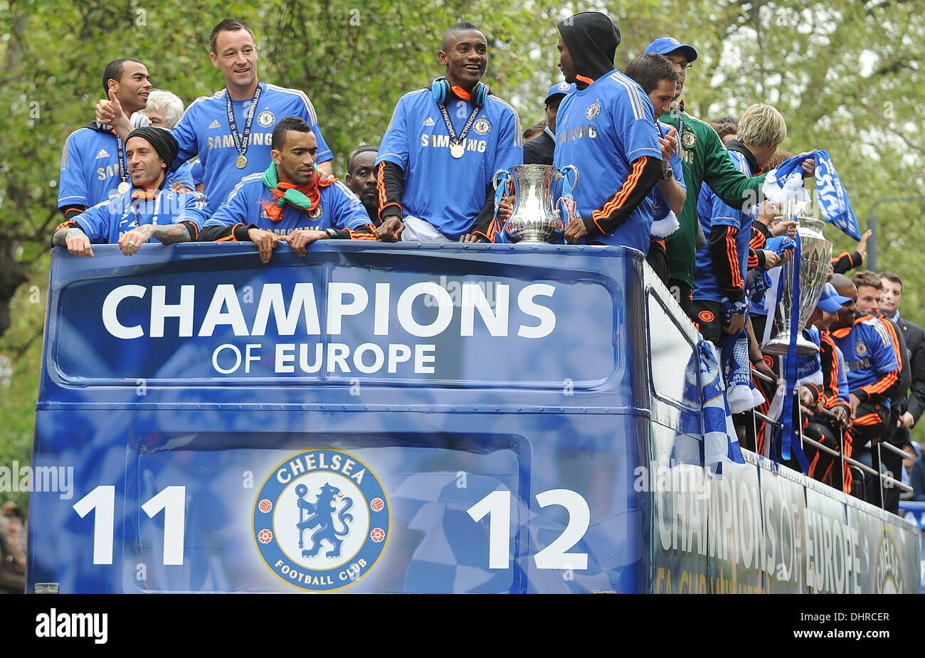Chelsea FC European Champions League Victory Parade