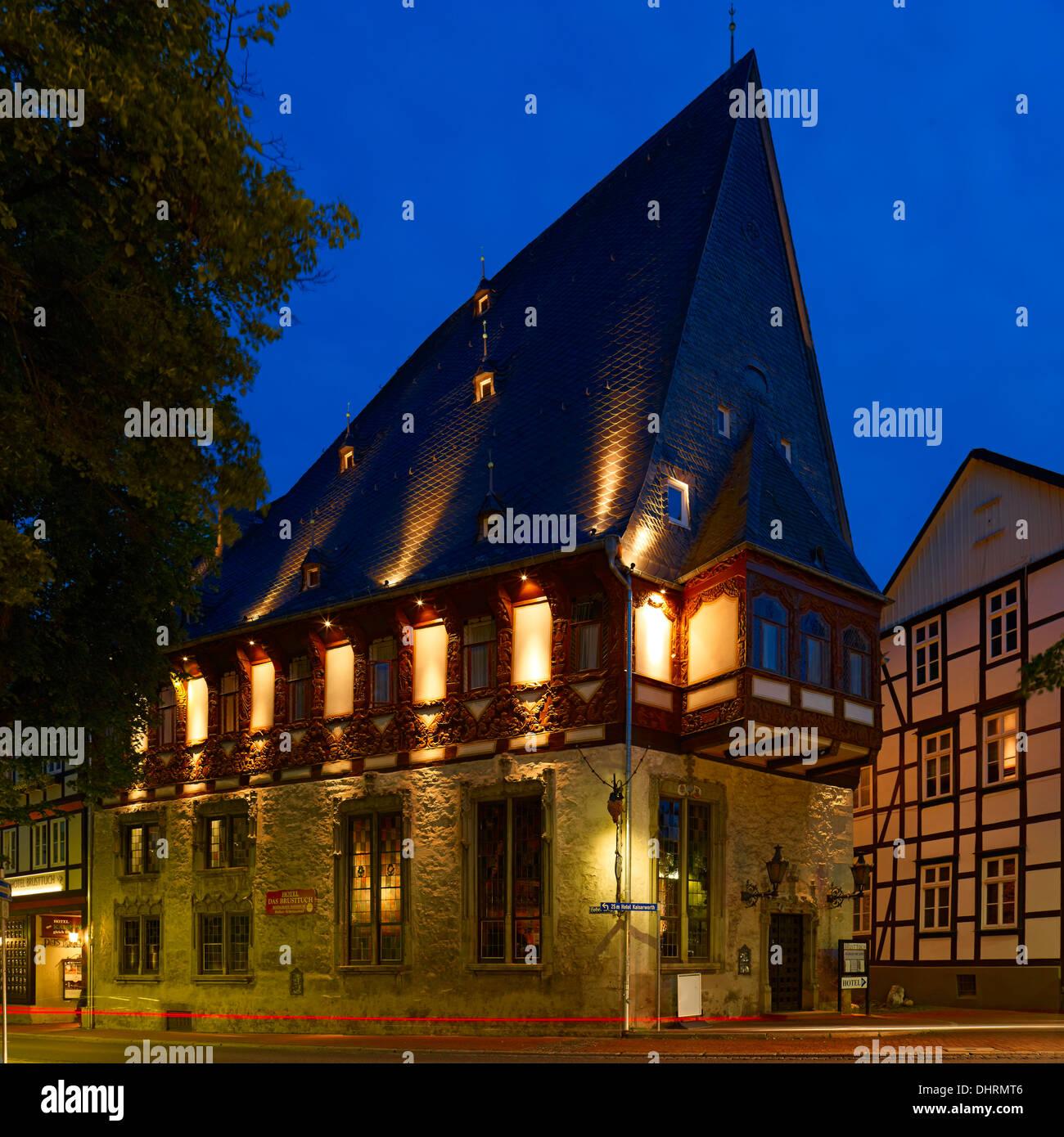 hotel brusttuch goslar germany stock photo 62601510 alamy. Black Bedroom Furniture Sets. Home Design Ideas