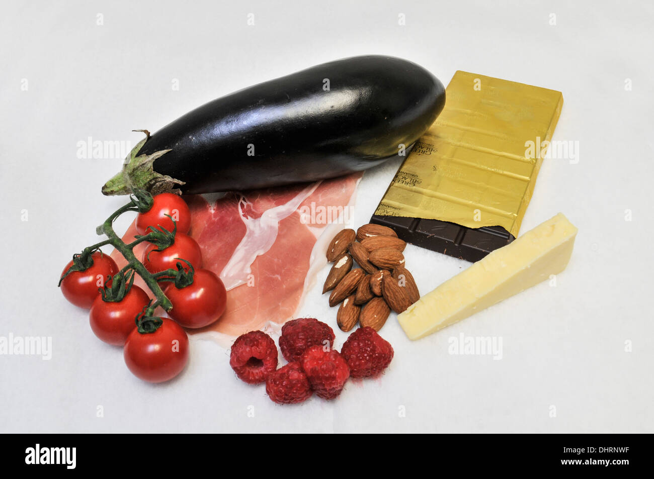 Medical Food Group - Stock Image