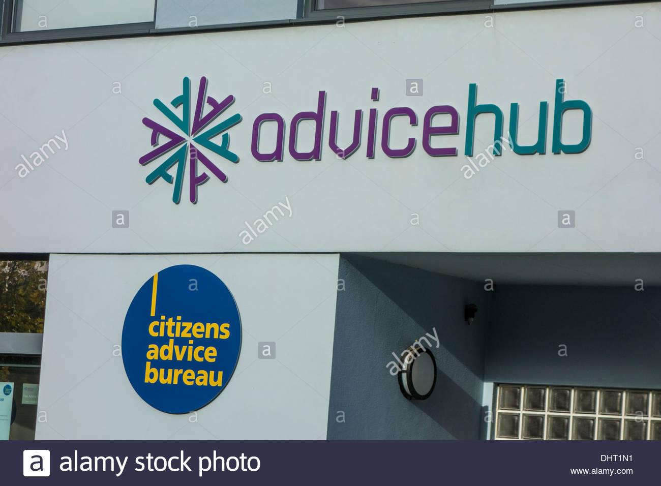 Cambridge advicehub and citizens advice bureau stock photo: 62608477
