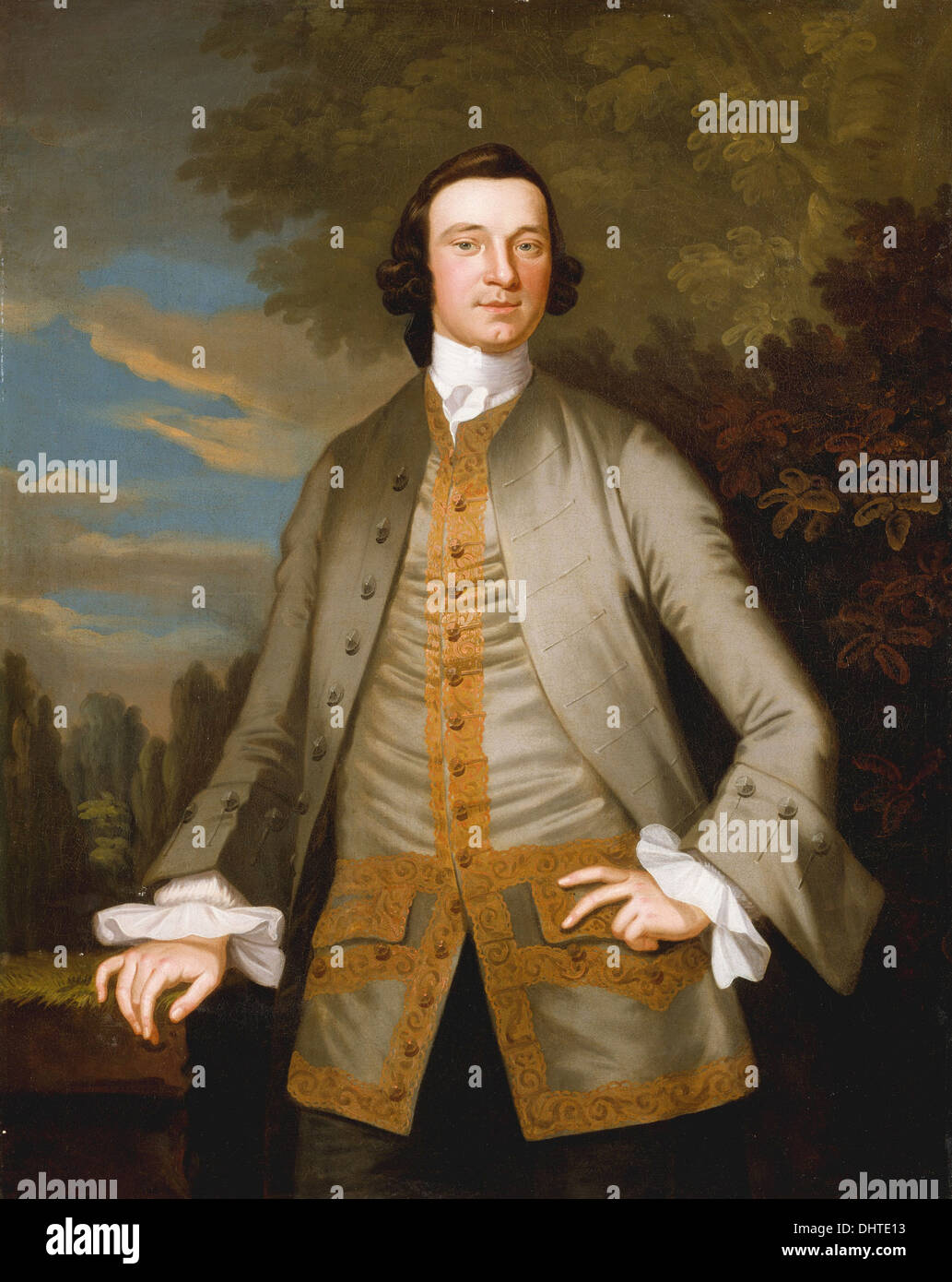 William Axtell  - by John Wollaston, 1749 - Stock Image