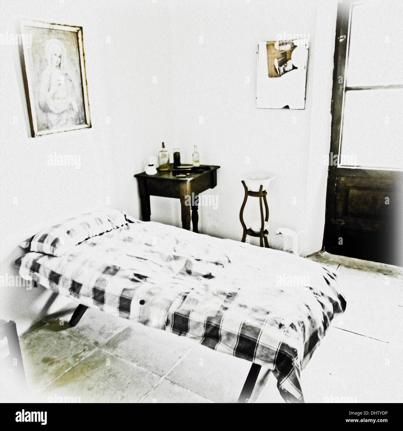 servants' room - Stock Image