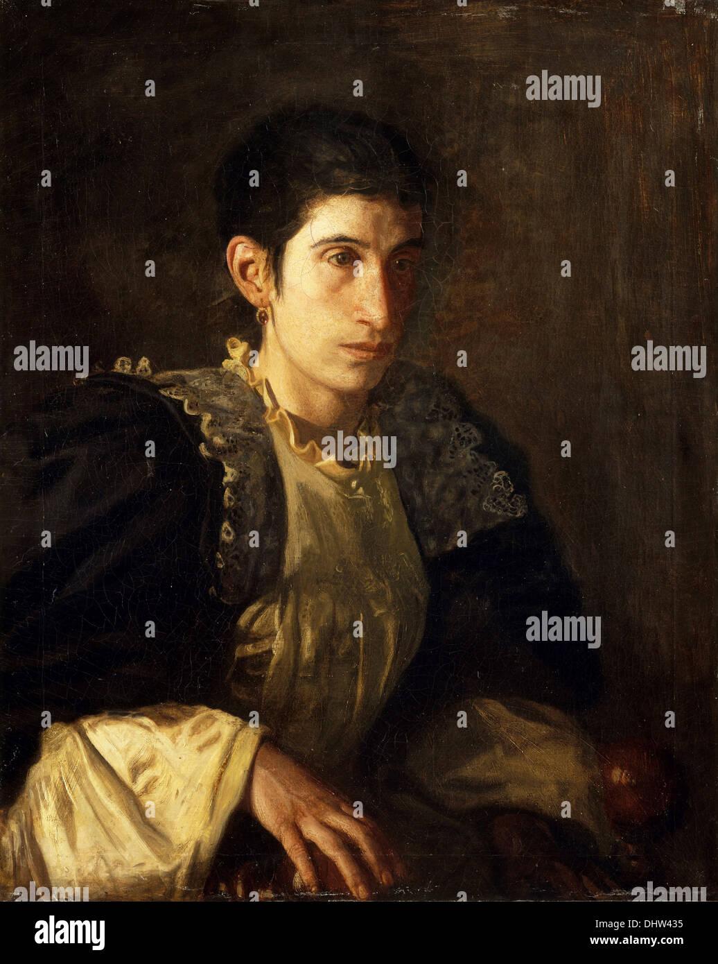 Signora Gomez d'Arza - by Thomas Eakins, 1902 - Stock Image