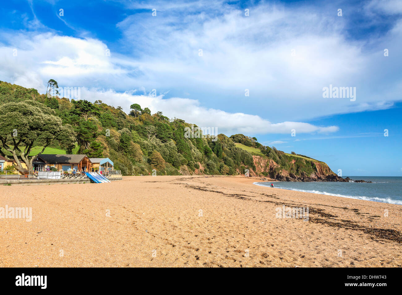 Blackpool sands in Devon - Stock Image