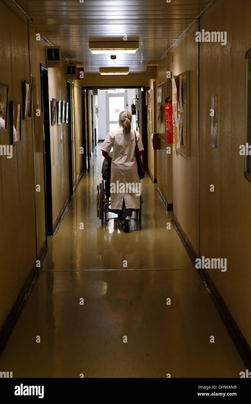 Geriatrics Unit. Hospital. - Stock Image
