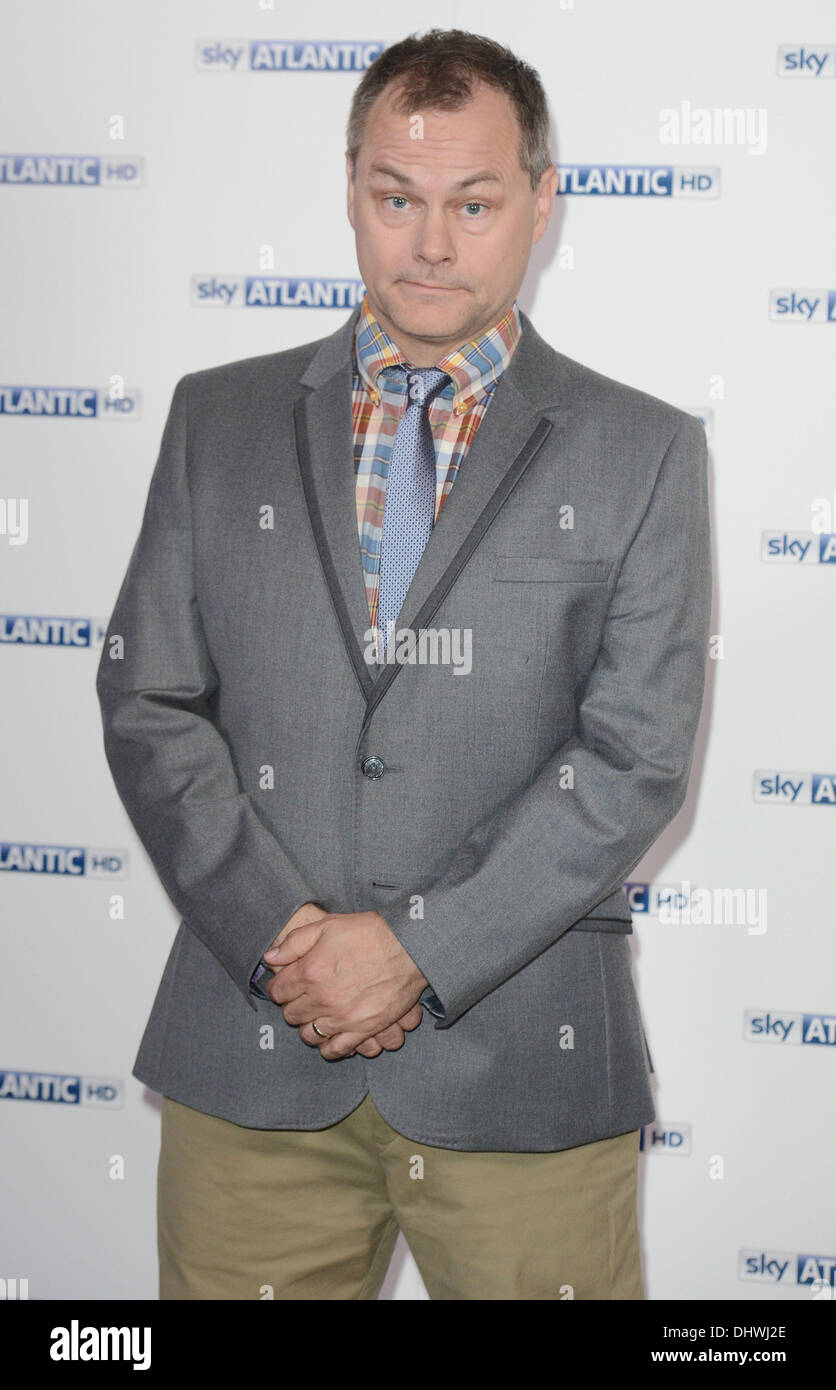 Jack Dee at the Sky Atlantic launch at The Electric Cinema, Notting Hill London, England- 31.05.12 - Stock Image