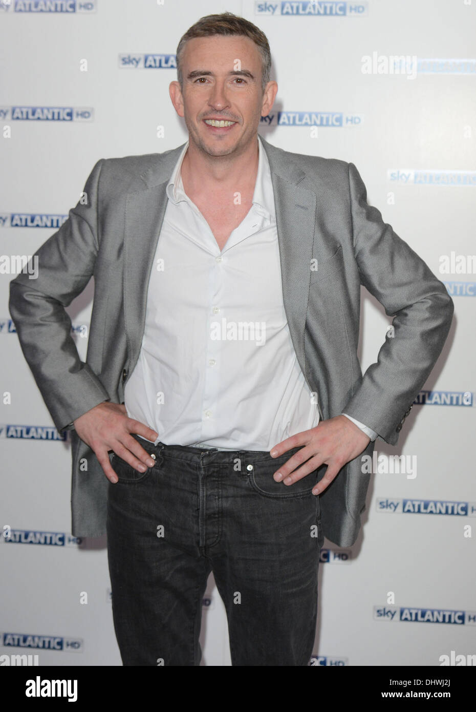 Steve Coogan at the Sky Atlantic launch at The Electric Cinema, Notting Hill London, England- 31.05.12 Featuring: Steve Coogan Where: London, United Kingdom When: 31 May 2012 - Stock Image