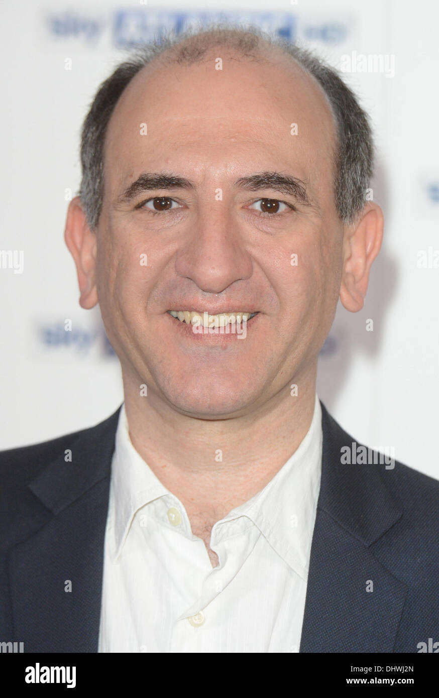 Armando Iannucci   at the Sky Atlantic launch at The Electric Cinema, Notting Hill London, England- 31.05.12 - Stock Image