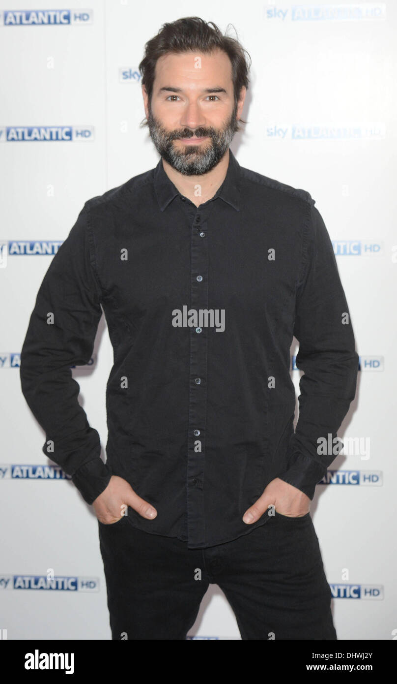 Adam Buxton   at the Sky Atlantic launch at The Electric Cinema, Notting Hill London, England- 31.05.12 - Stock Image