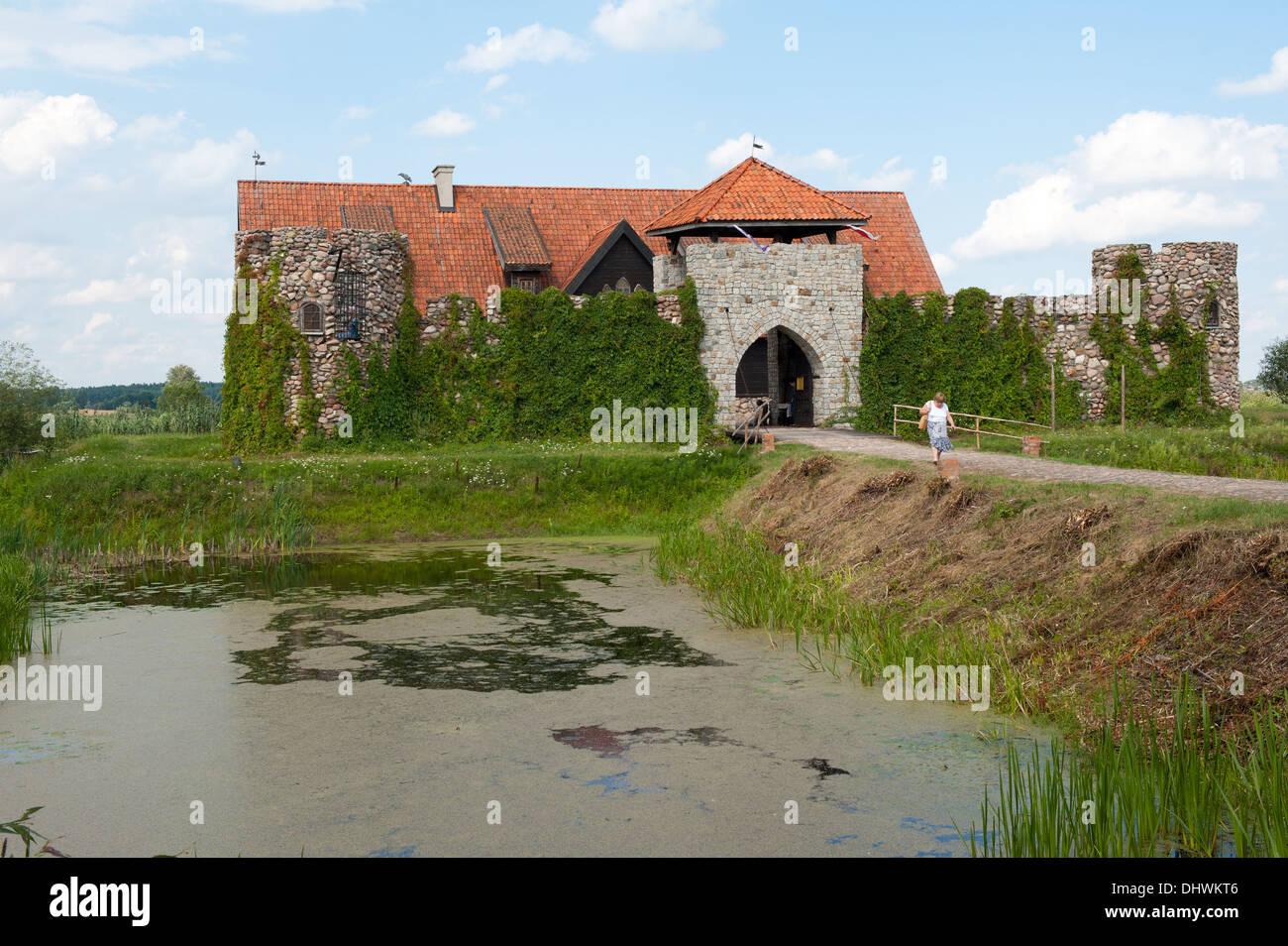 Kiermusy, Gmina Tykocin, Białystok County, Podlaskie Voivodeship, Poland - Stock Image
