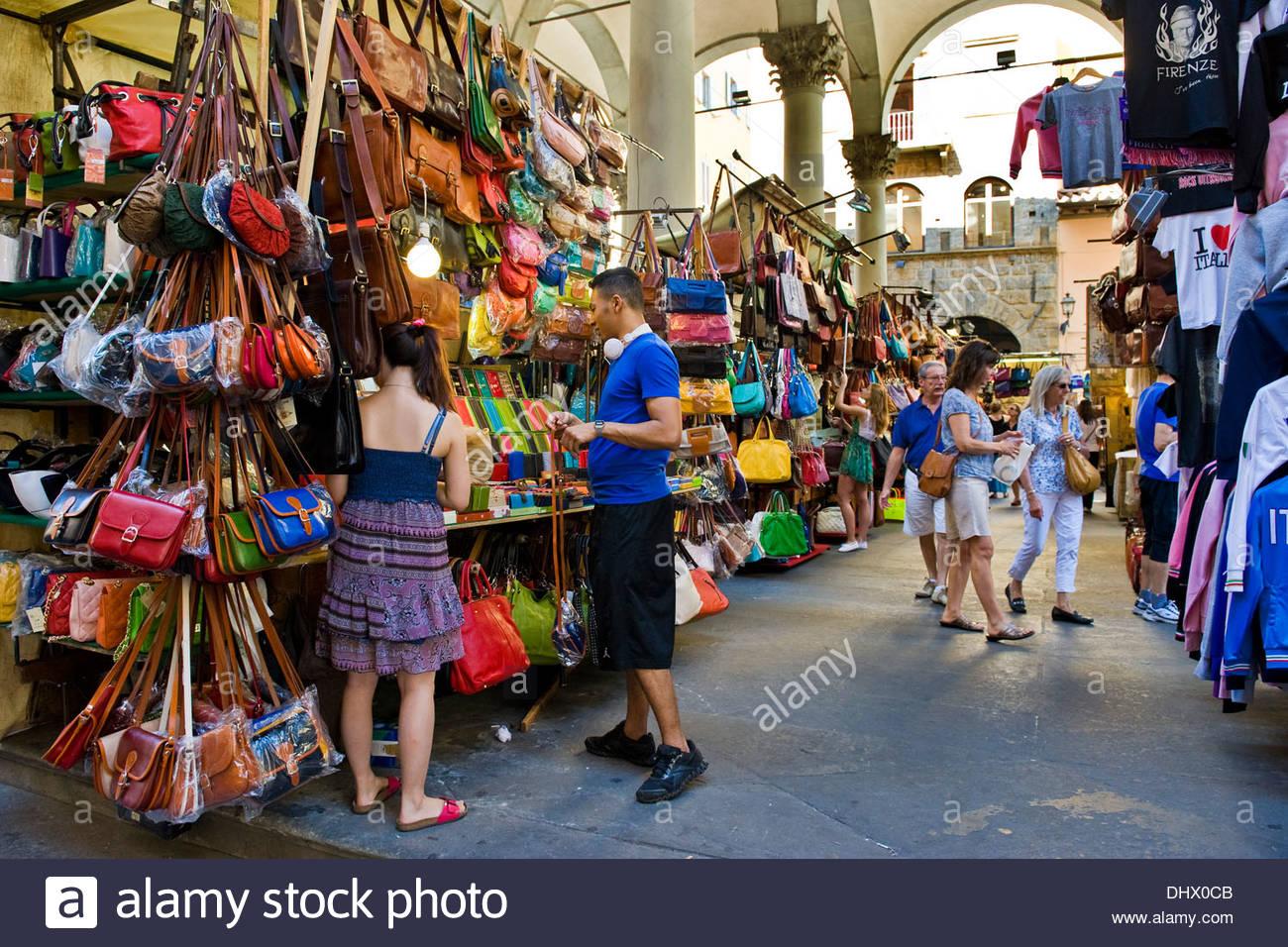 loggia del porcellino,loggia del mercato nuovo,florence - Stock Image
