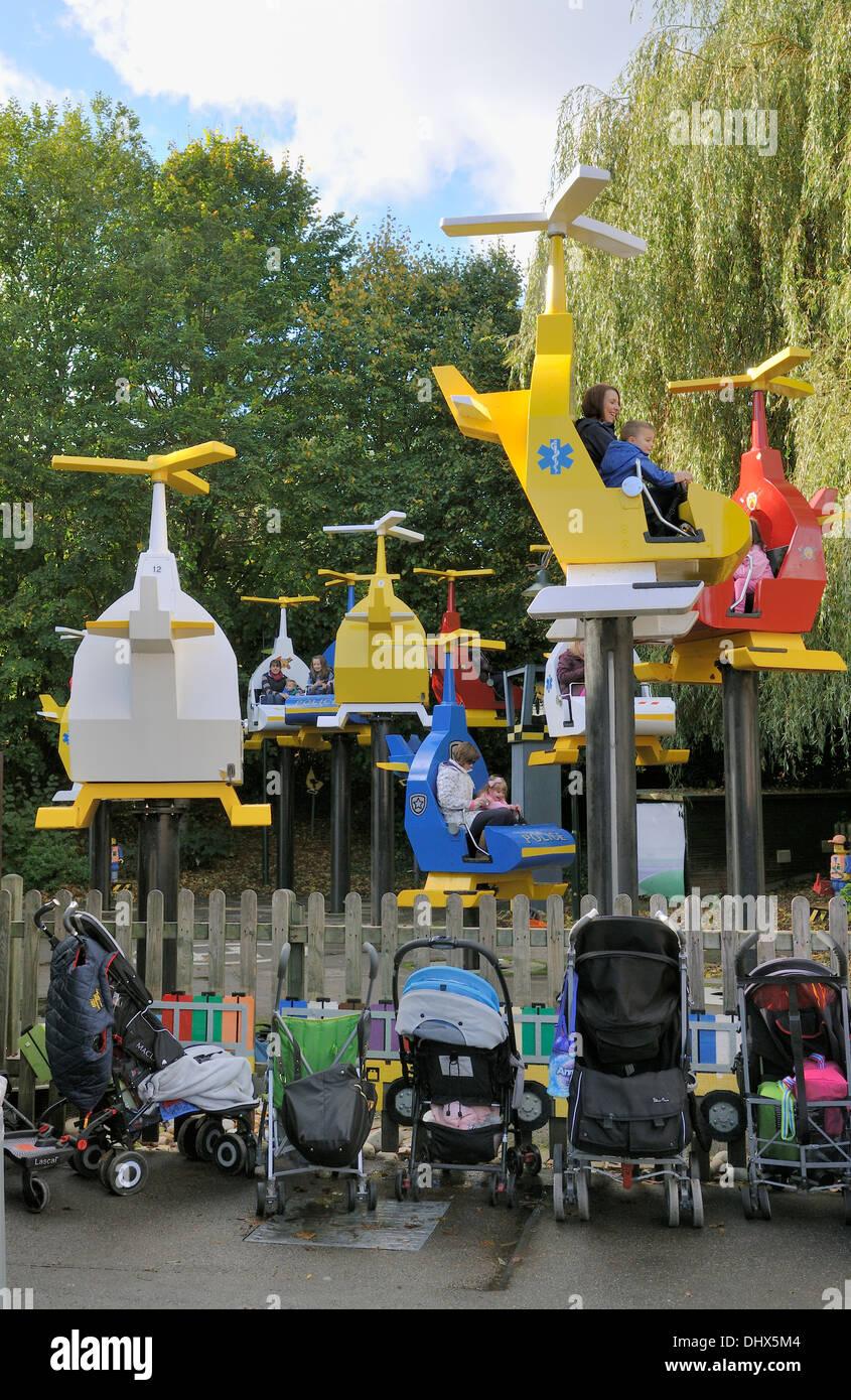 DUPLO Valley Airport at Legoland, Windsor, UK Stock Photo