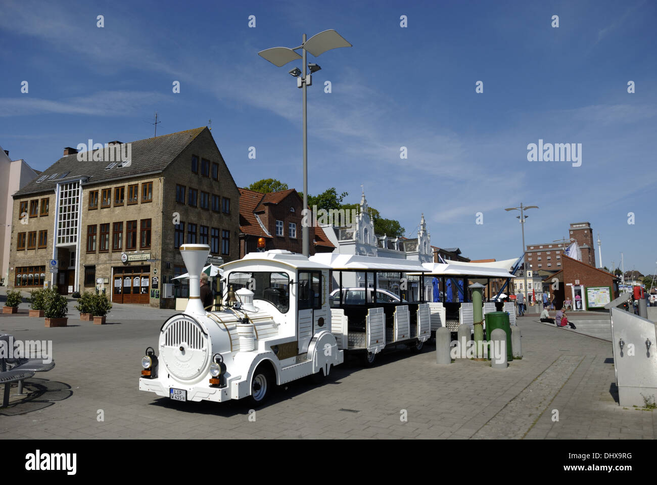 Small train in Kappeln - Stock Image