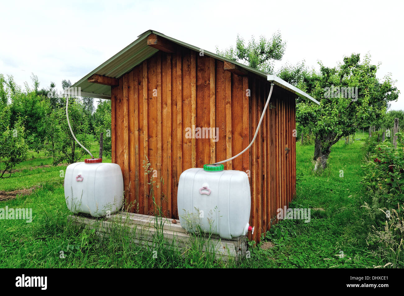 water station - Stock Image
