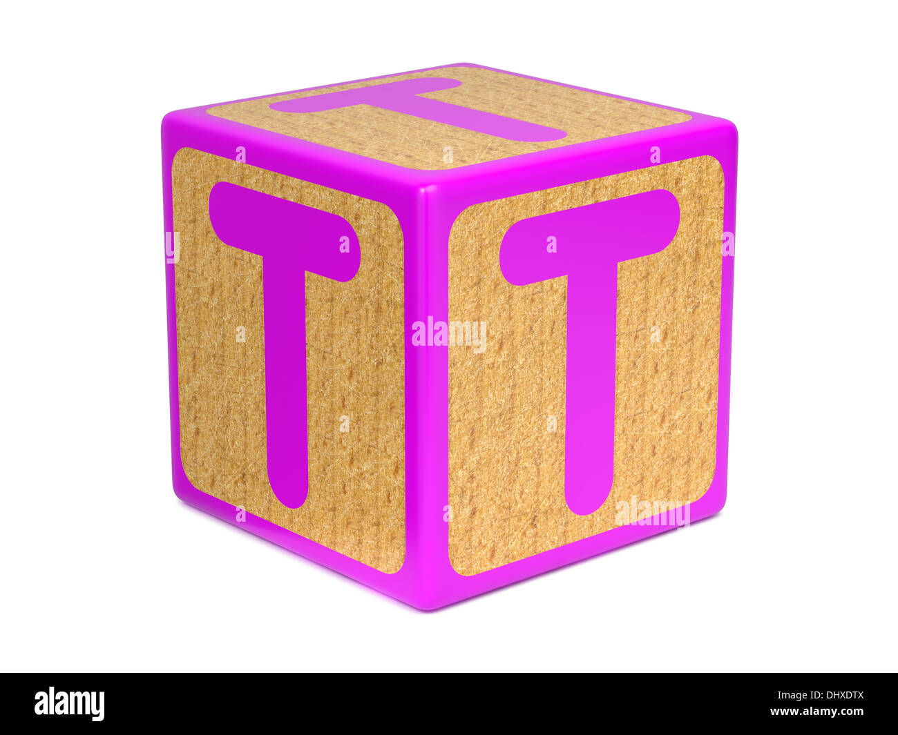 Letter On Childrens Alphabet Block Stock Photos  Letter On