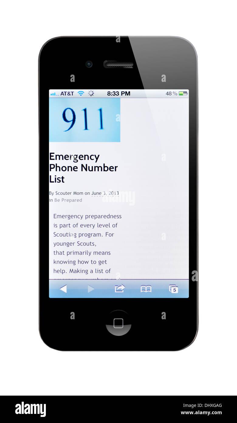 emergency phone number list