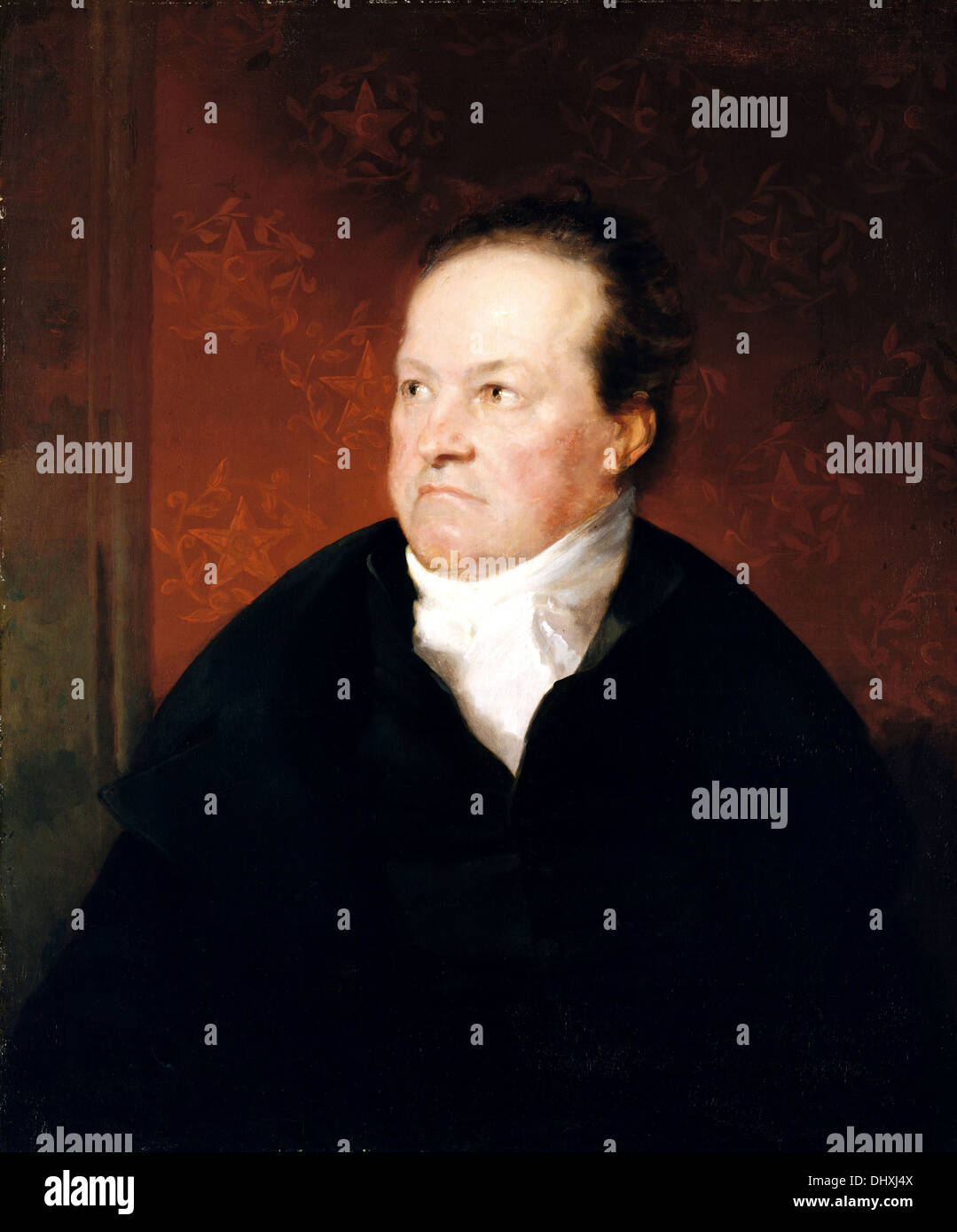 DeWitt Clinton - by Samuel F. B. Morse 1826 - Stock Image