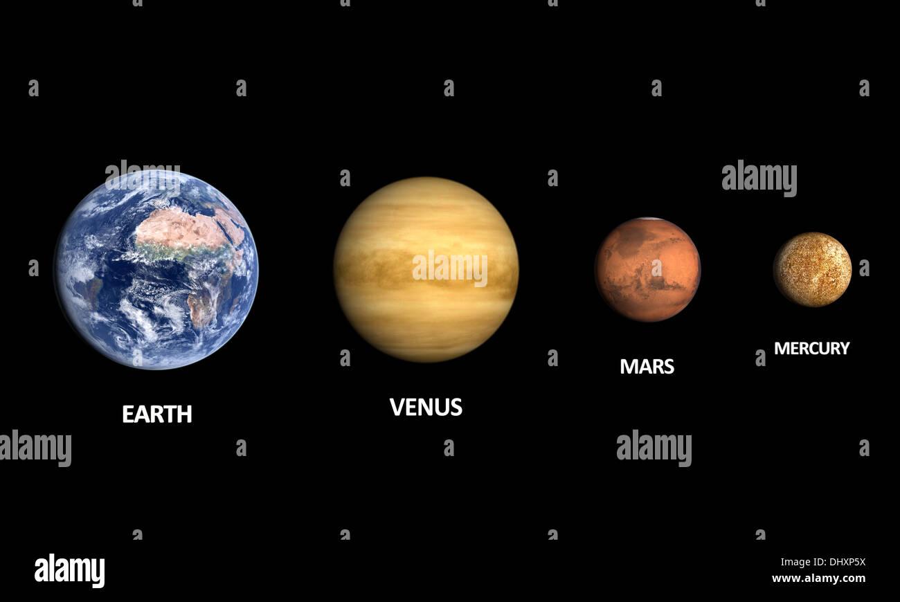Moon Mars Venus Stock Photos & Moon Mars Venus Stock ...