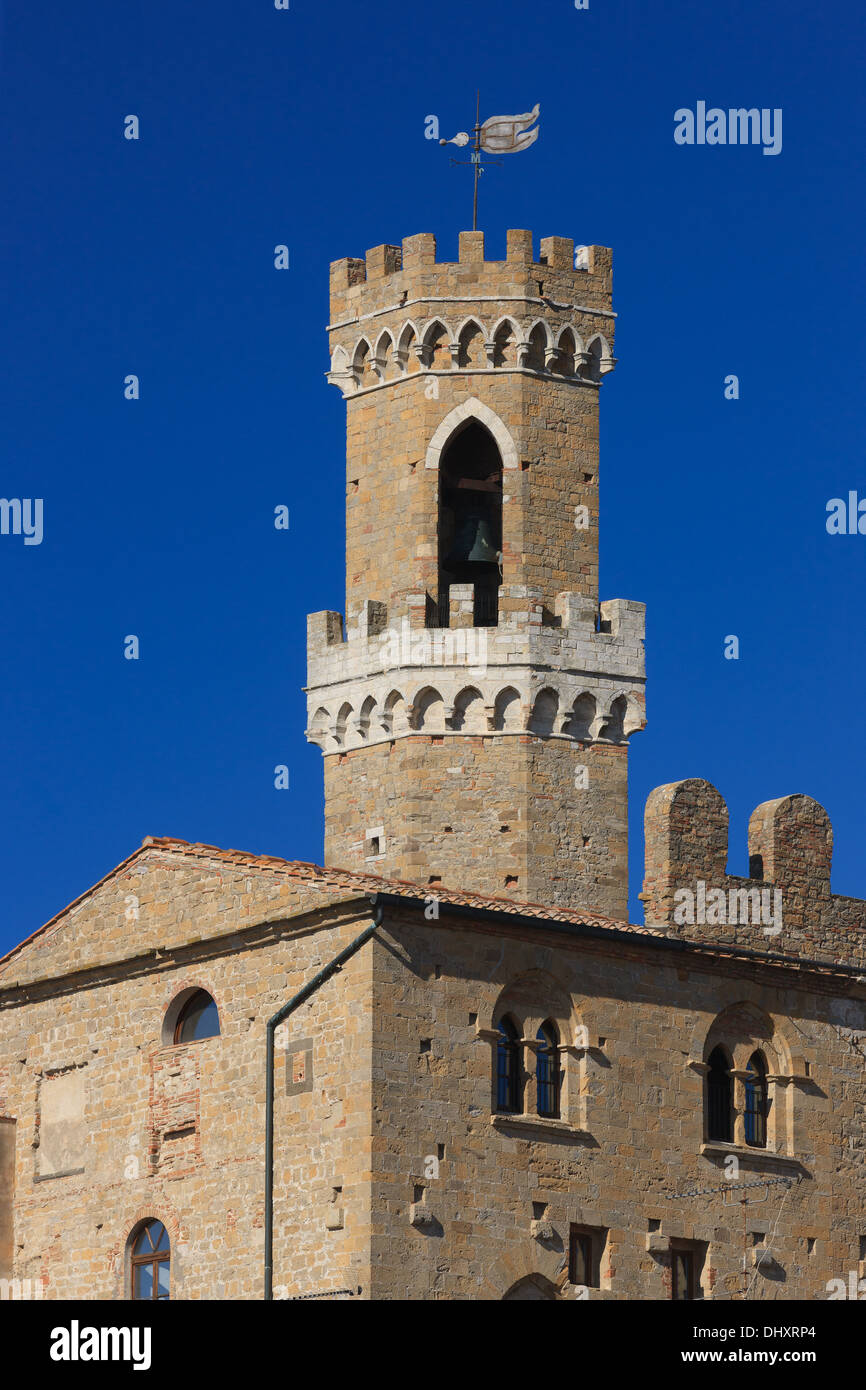 Volterra is a town and comune in the Tuscany region of Italy. - Stock Image