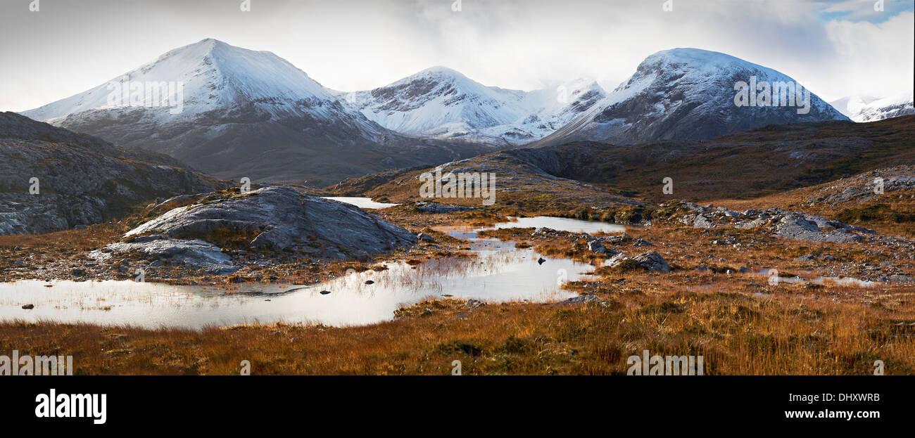 Stitched Panorama - Stock Image