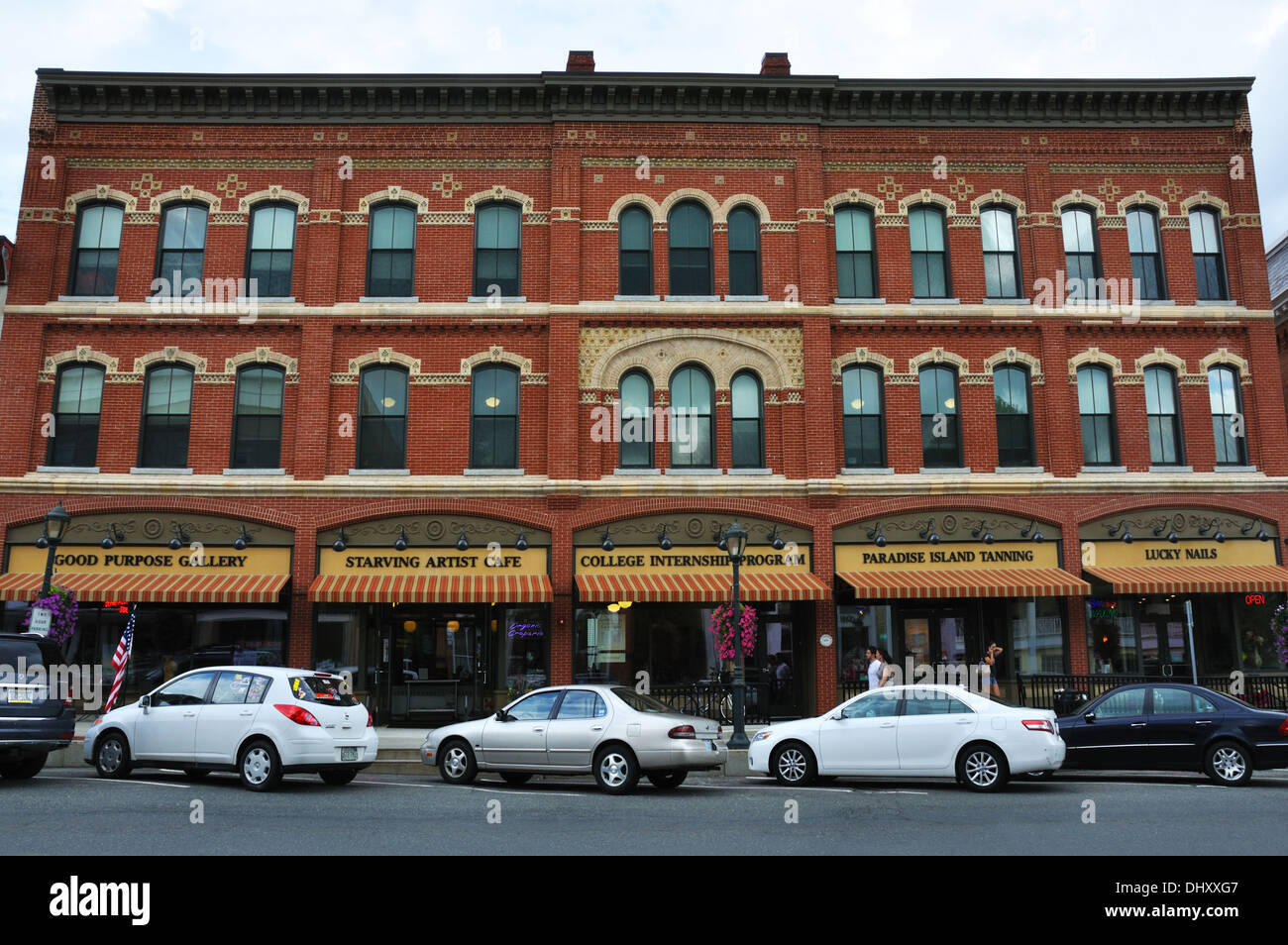 Shops in downtown Lee, Massachusetts, USA Stock Photo: 62671847 - Alamy