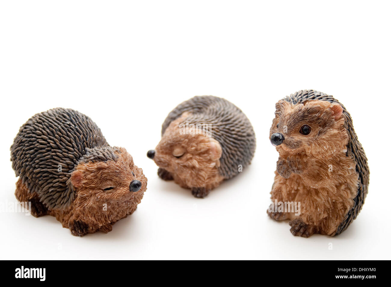 Hedgehog figure - Stock Image