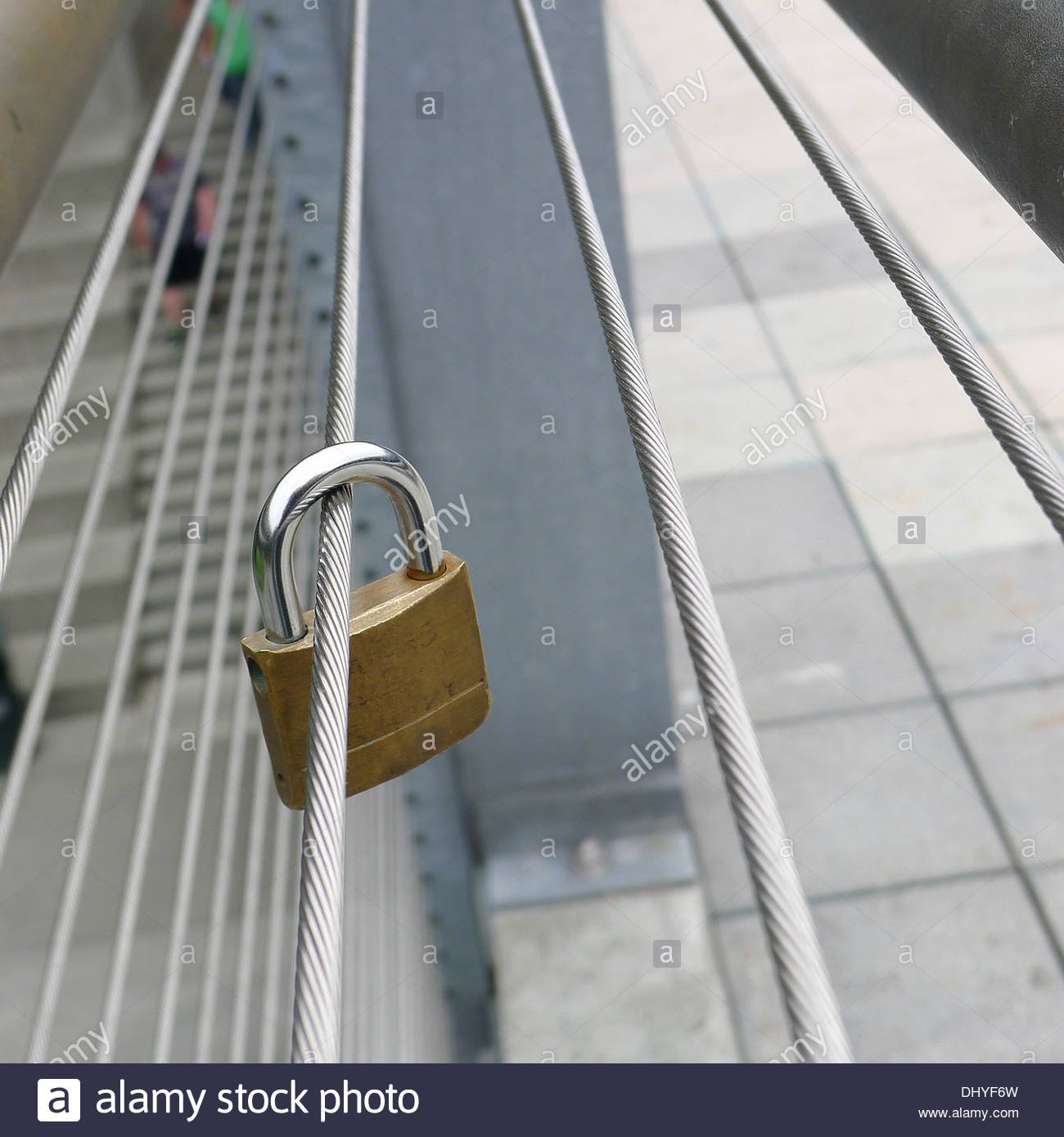 Secure Insecurity Stock Photo