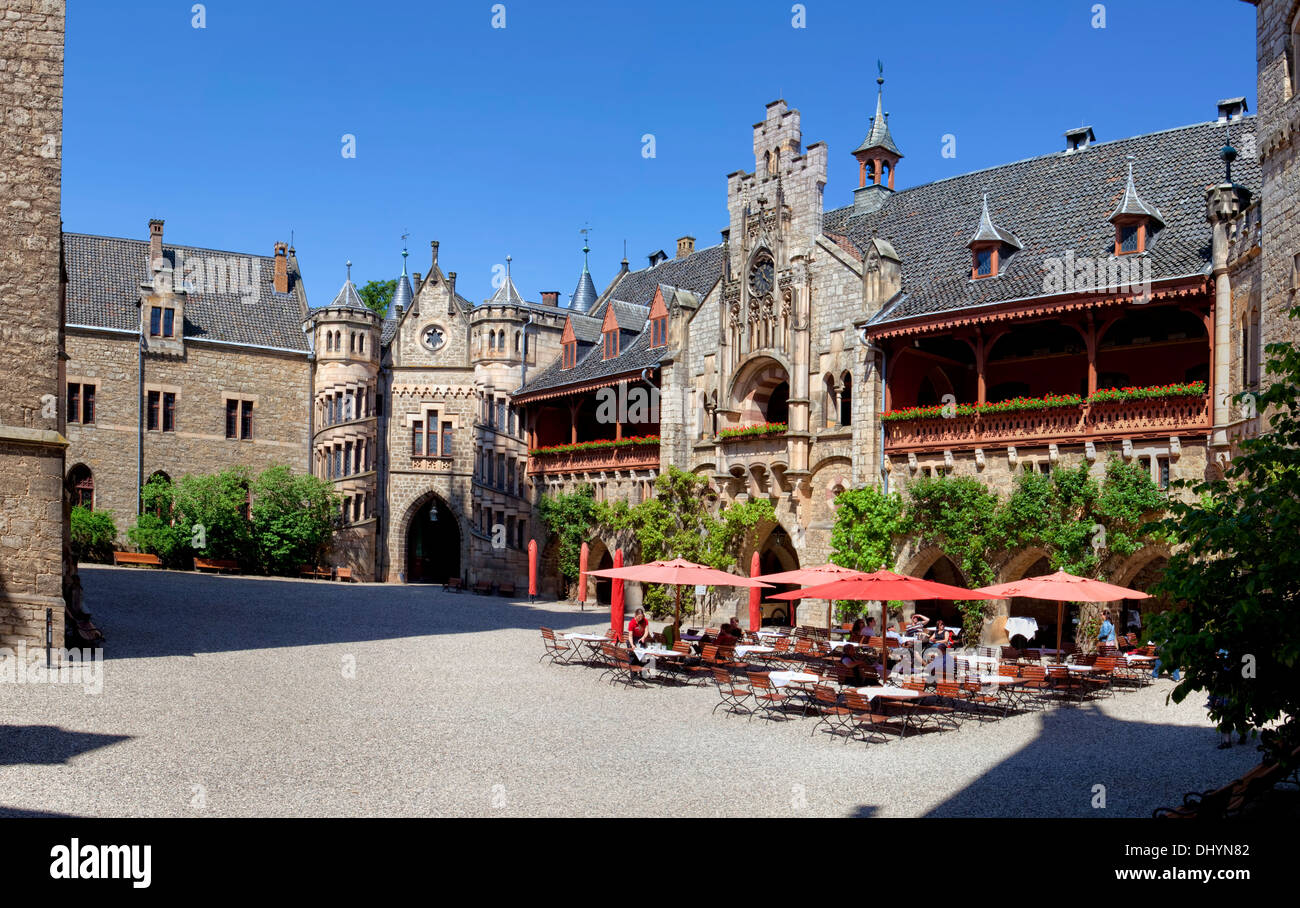 Marienburg Castle, Pattensen near Hannover, Lower Saxony, Germany, Europe, - Stock Image