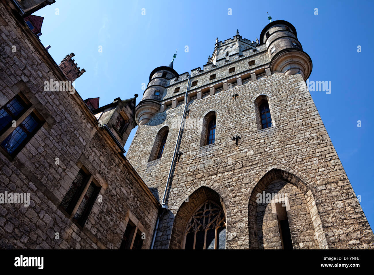 Marienburg Castle, Pattensen near Hannover, Lower Saxony, Germany, Europe, Stock Photo