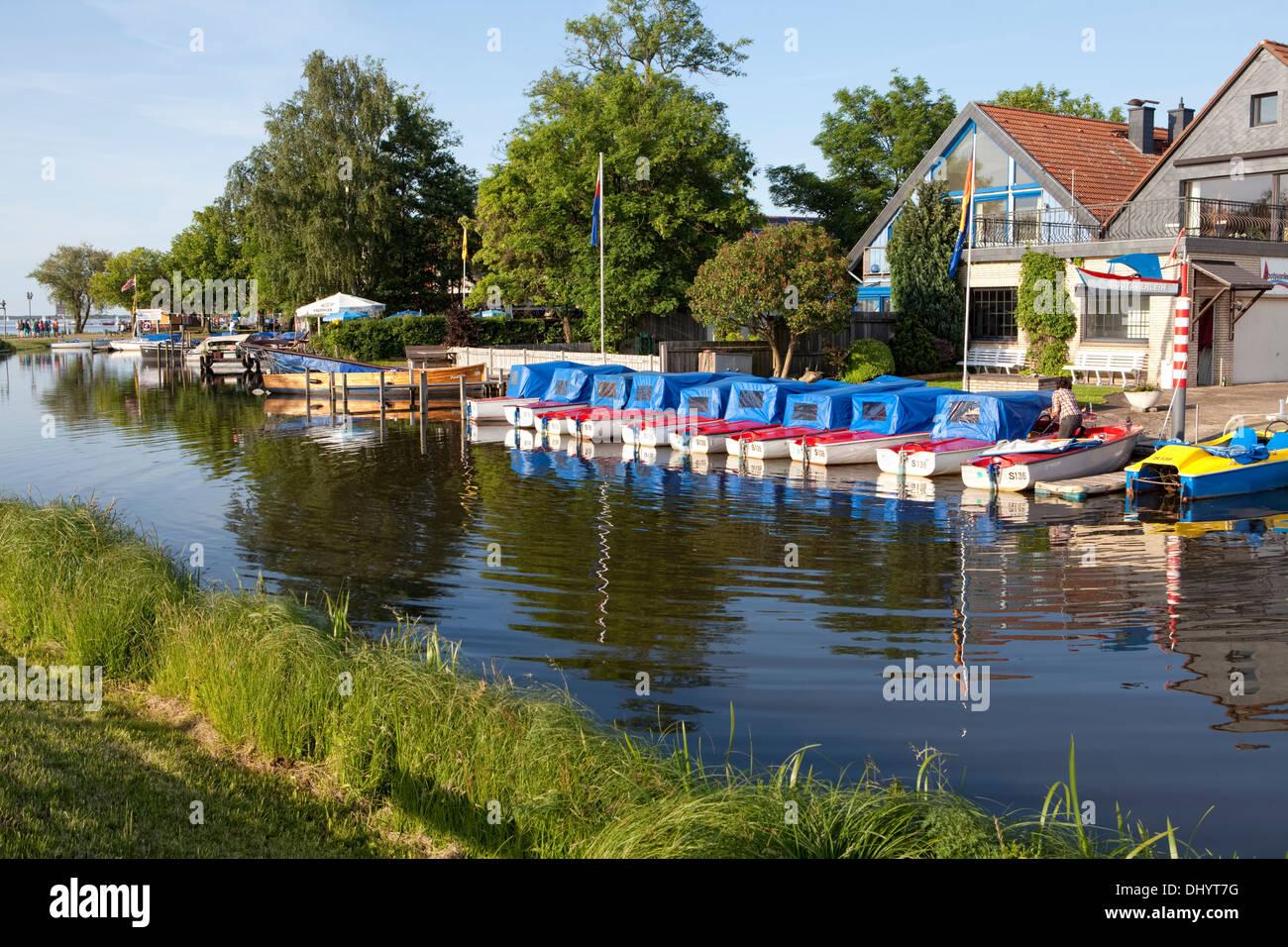 Steinhuder Meer Nature Park, Steinhude Sea, Steinhude, Wunstorf, Lower Saxony, Germany, Europe, Stock Photo