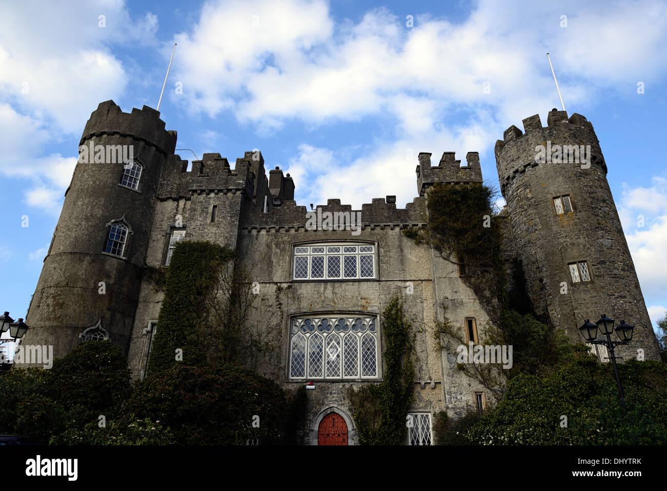 Malahide castle and Gardens Dublin ireland talbot botanic gardens - Stock Image