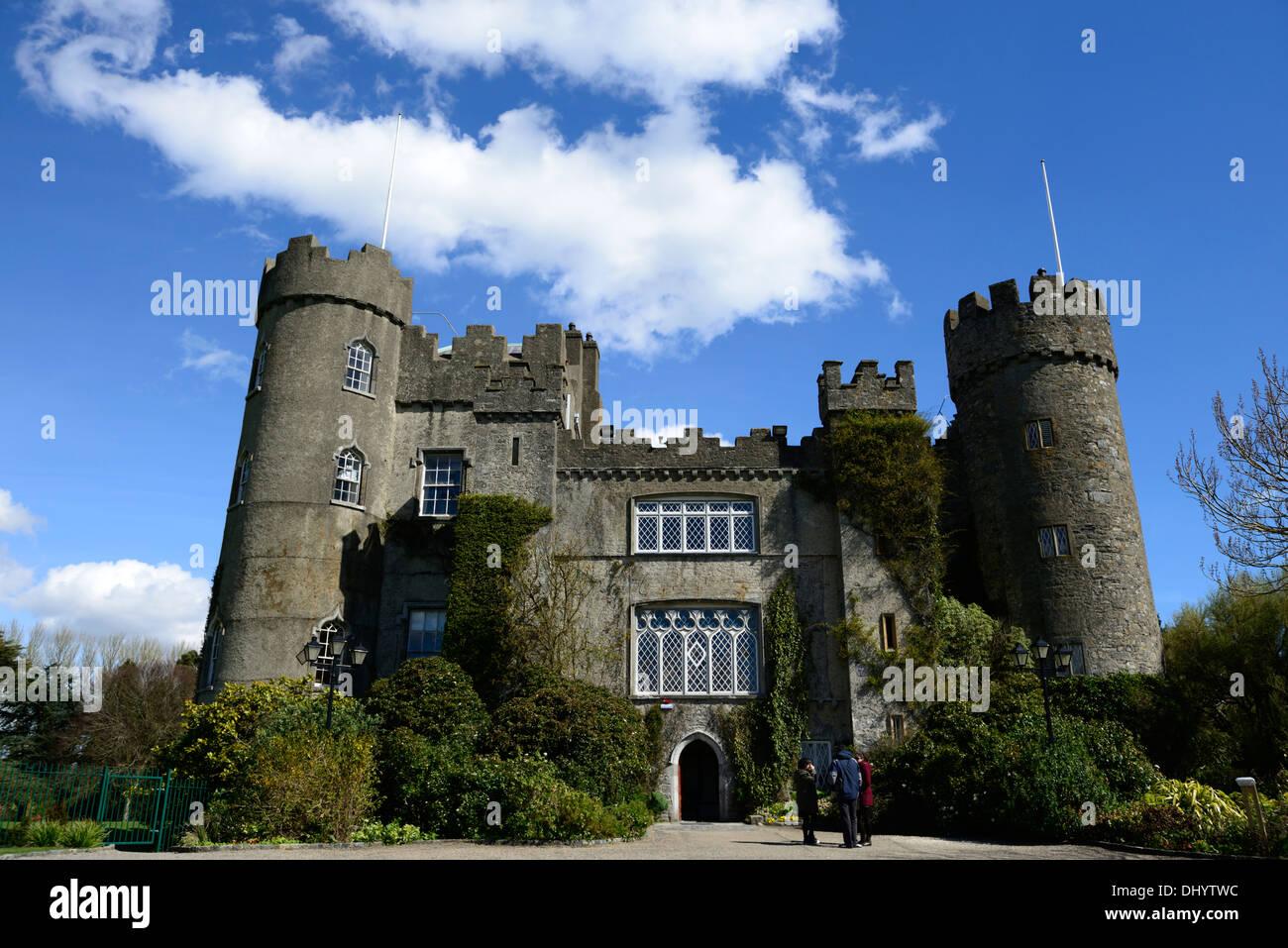 Malahide castle and Gardens Dublin ireland talbot family - Stock Image