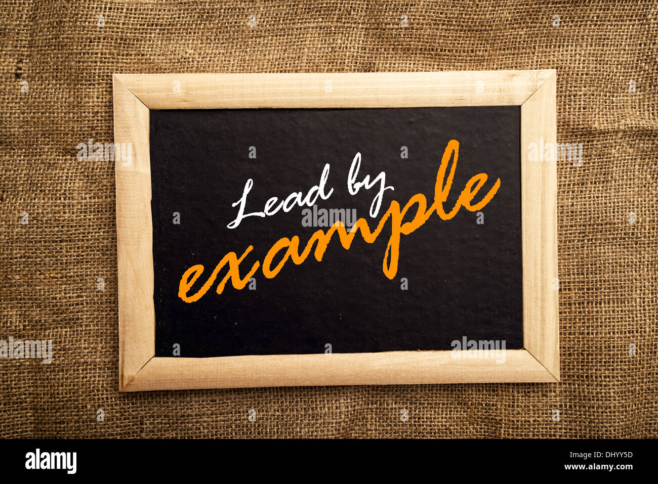 Lead By Example Stock Photos Lead By Example Stock Images Alamy