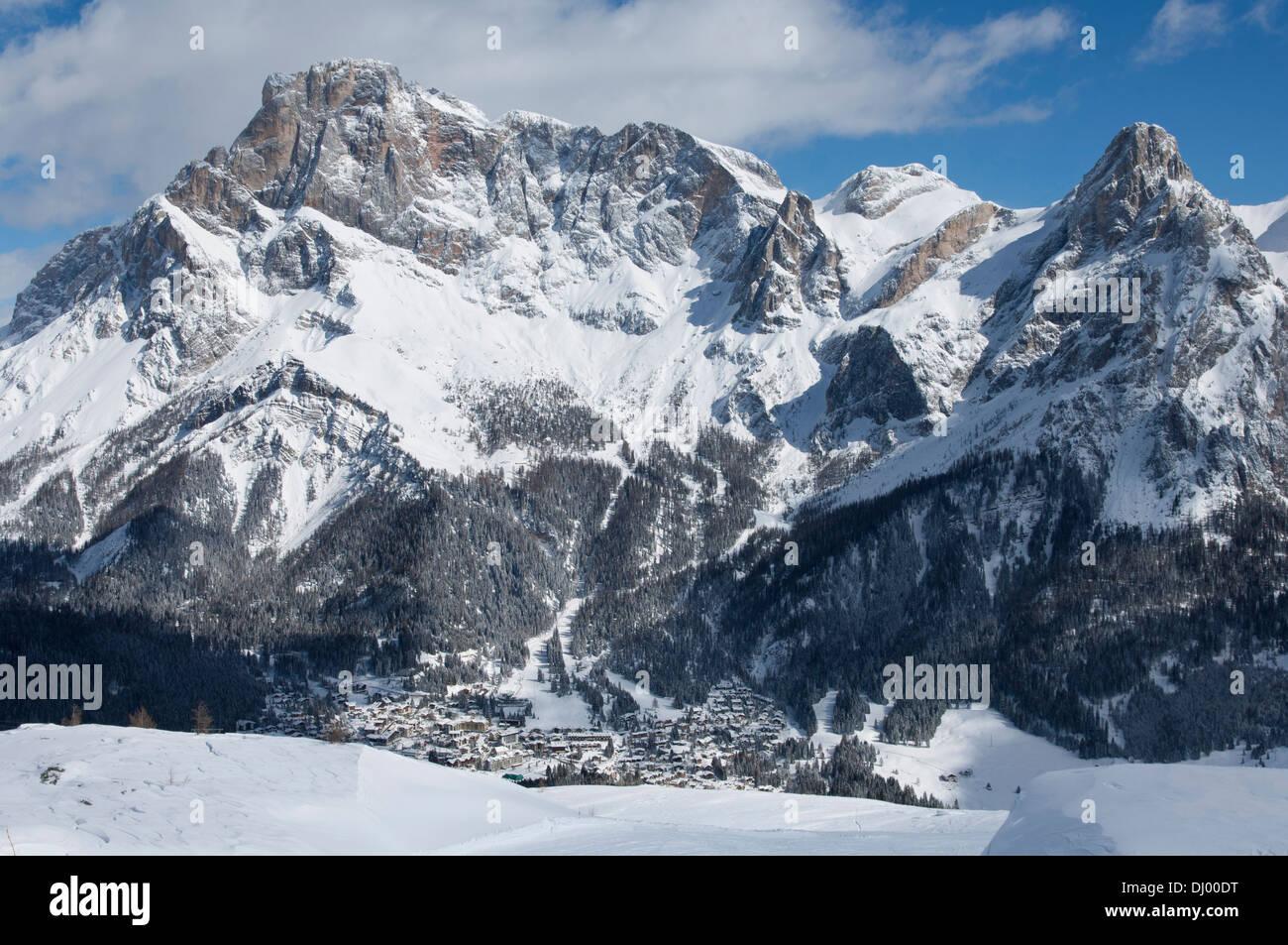 San Martino di Castrozza, Trentino alto Adige, Dolomites, Italy. Stock Photo