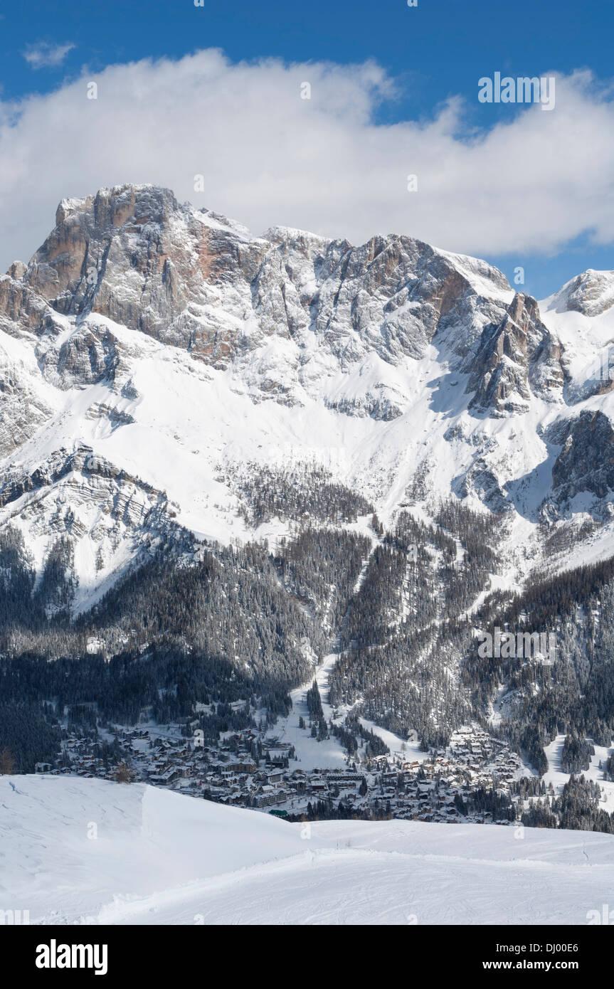 Dolomiti surroundings San Martino di Castrozza. Stock Photo