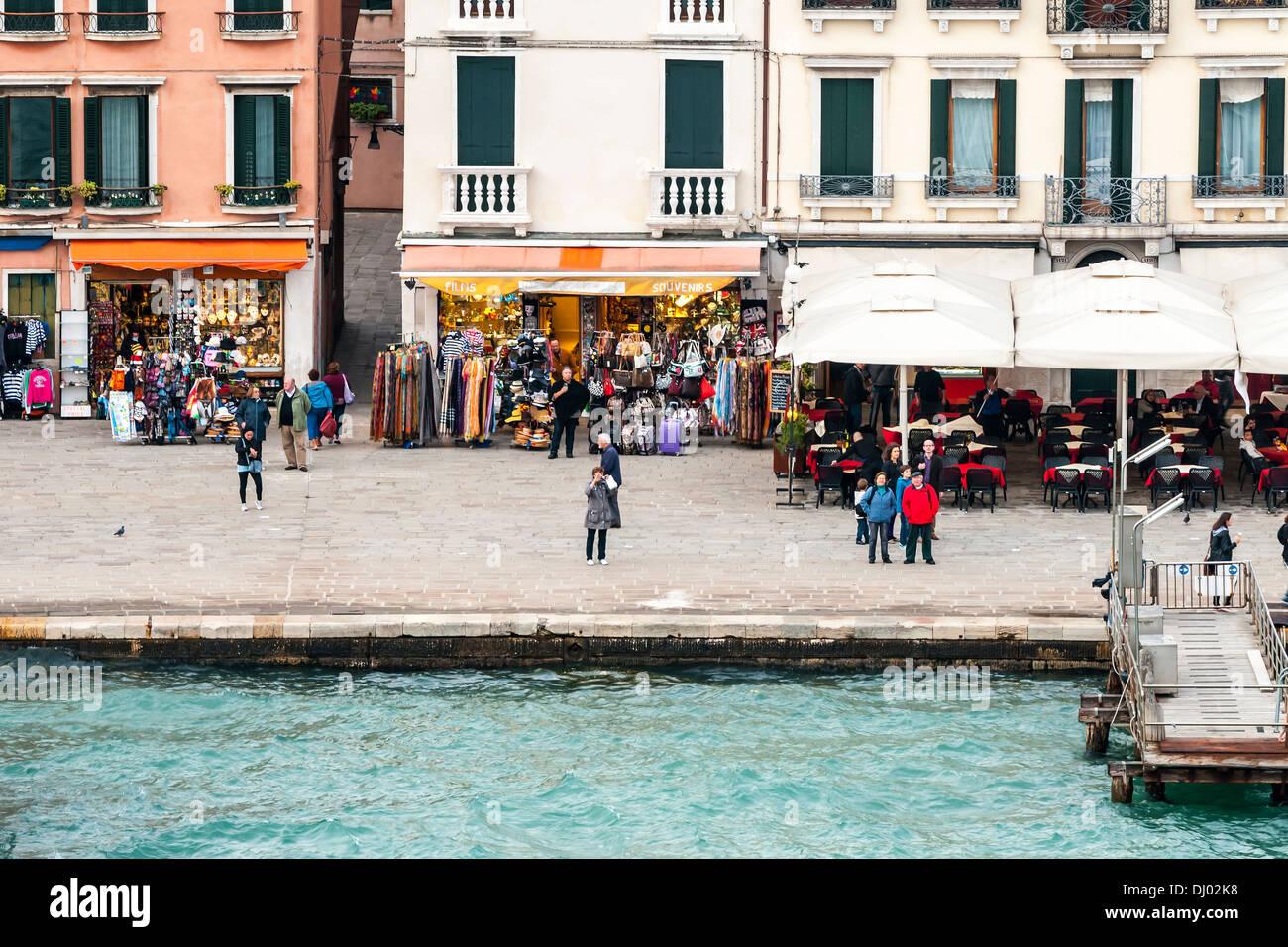 The sights of Venice Venezia Veneto region, northeastern Italy Stock ...