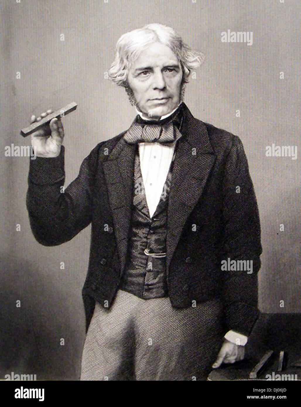 Michael Faraday, English scientist - Stock Image