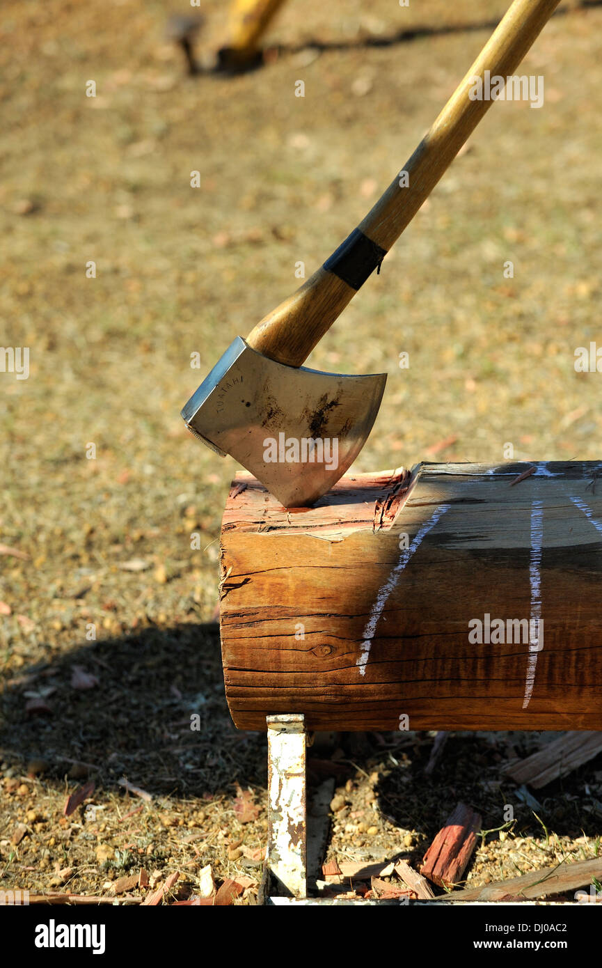 Axe Competition Stock Photos Axe Competition Stock Images Alamy