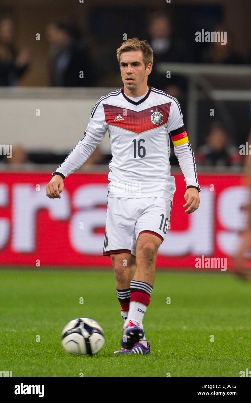 Philipp Lahm (GER), NOVEMBER 15, 2013 - Football / Soccer : International friendly match between Italy 1-1 Germany Stock Photo