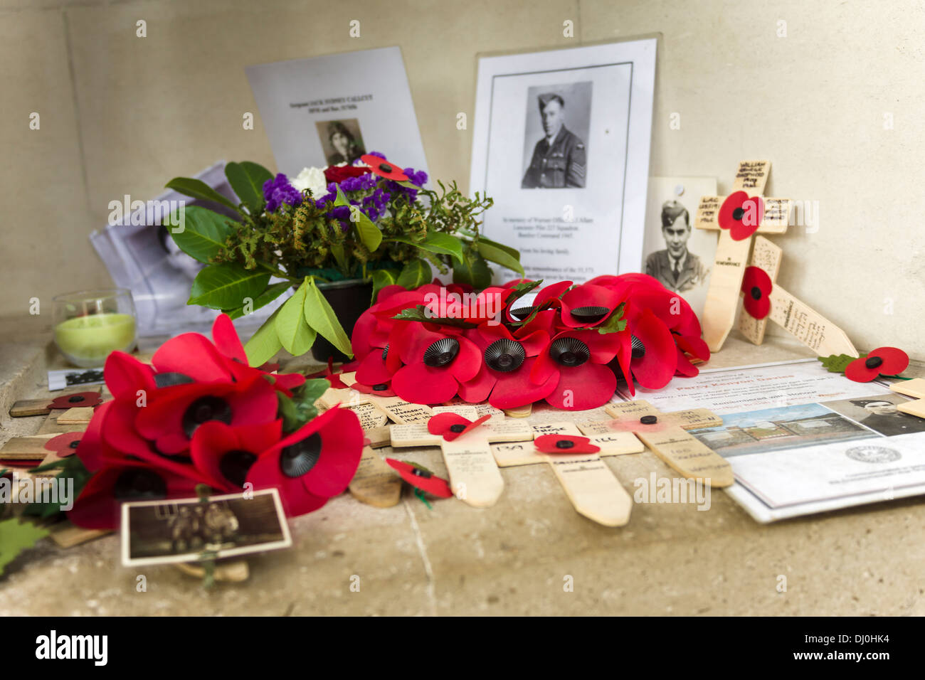 Bomber Command Memorial - Stock Image