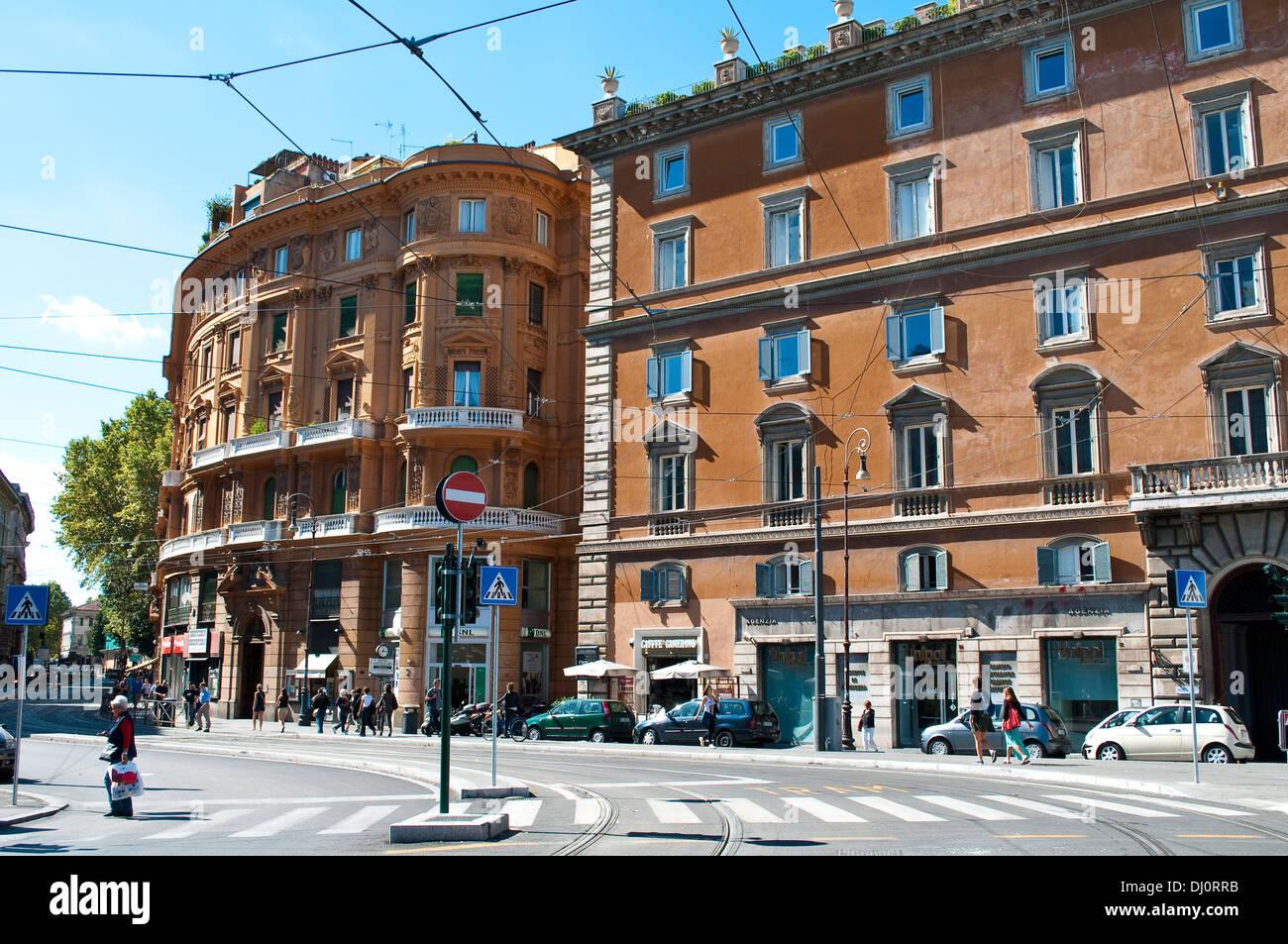 Square Largo di Torre Argentina, Campus Martius, Rome, Italy - Stock Image