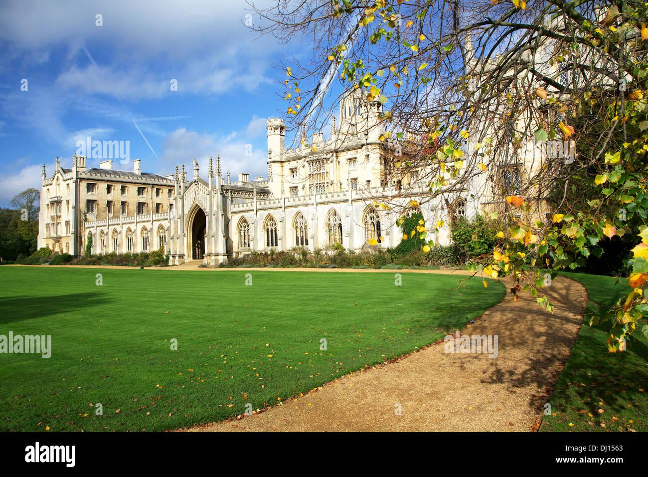 New Court, St John's College, Cambridge - Stock Image