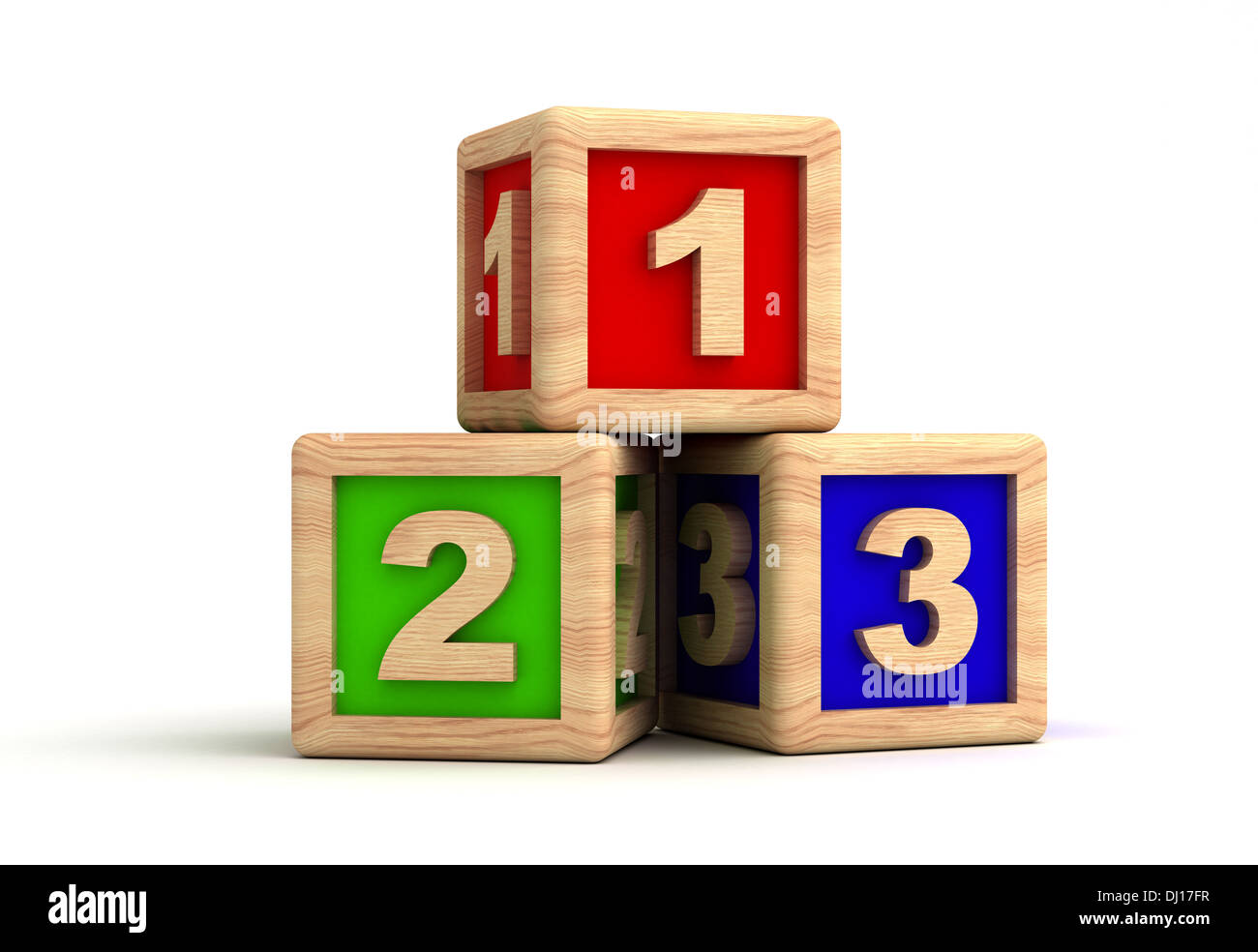 Play Blocks - Stock Image