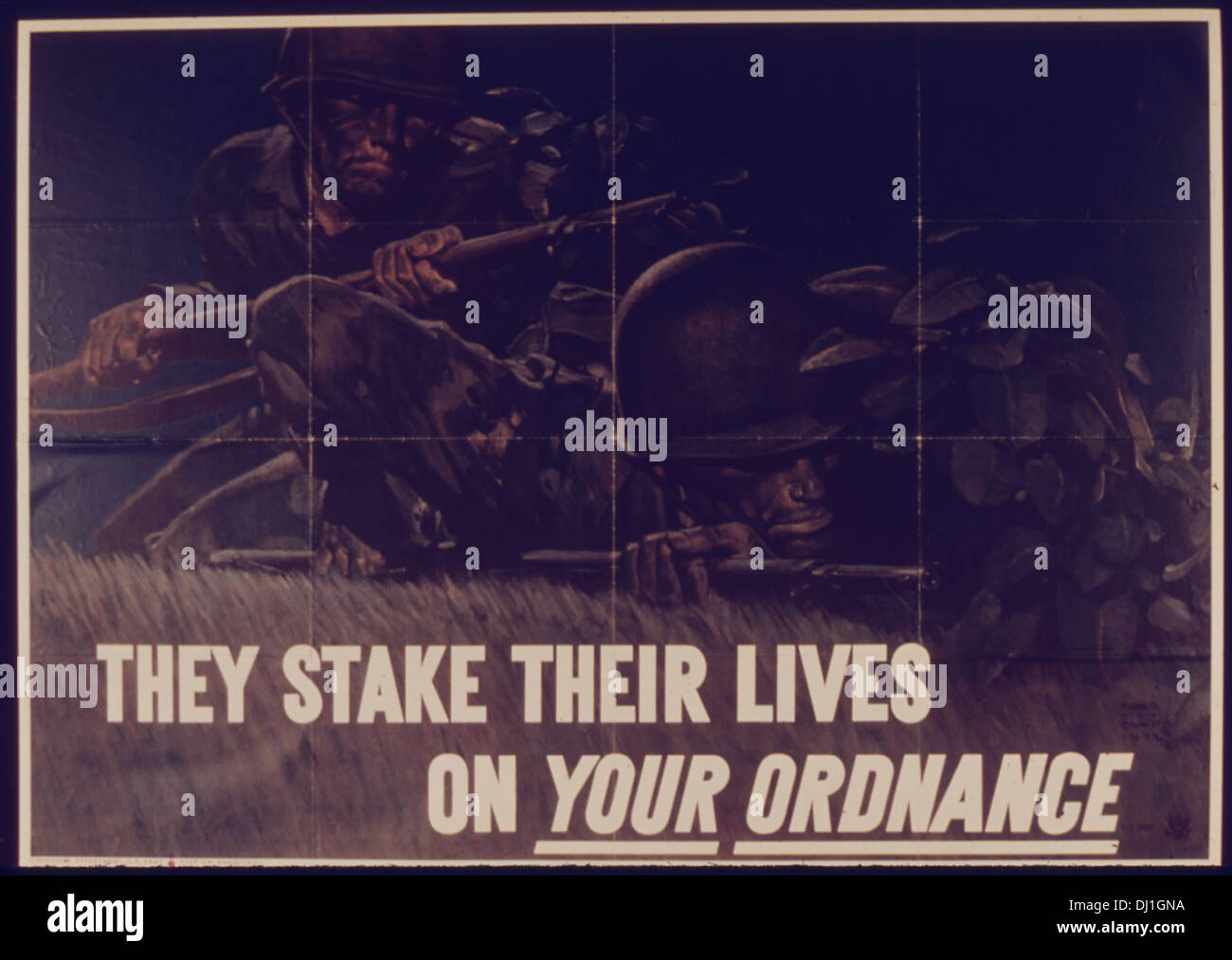 THEY STAKE THEIR LIVES ON YOUR ORDINANCE 706 - Stock Image