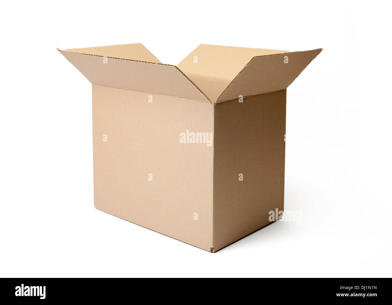 Corrugated Cardboard Packaging Stock Photos & Corrugated