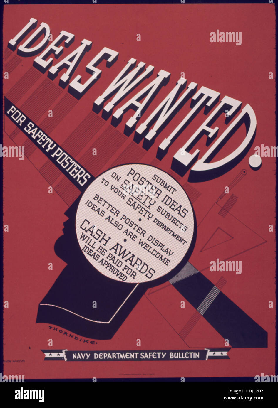 ideas wanted for safety posters 573 stock photo: 62735267 - alamy