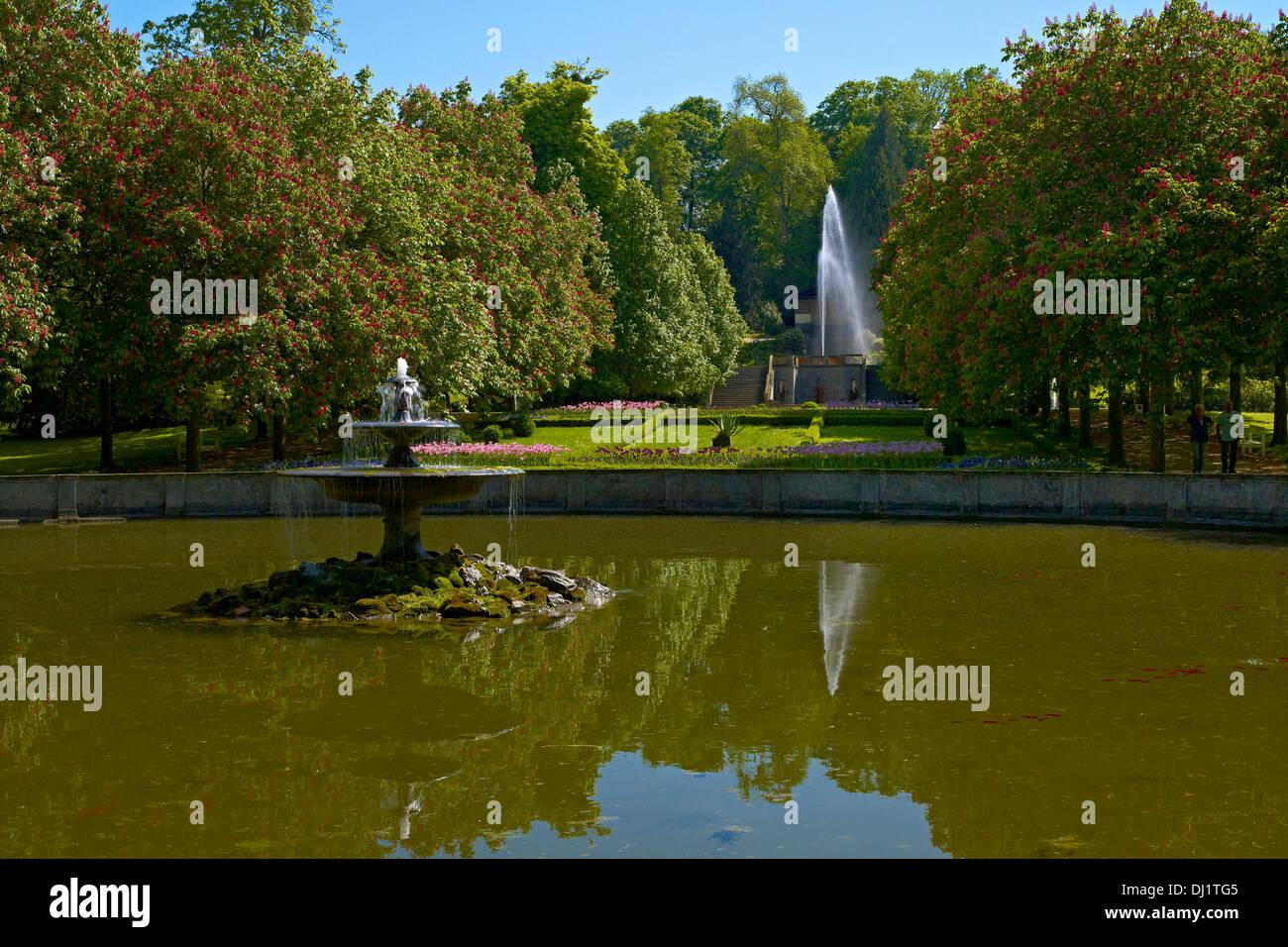 Castle grounds Ballenstedt, Saxony-Anhalt, Germany - Stock Image