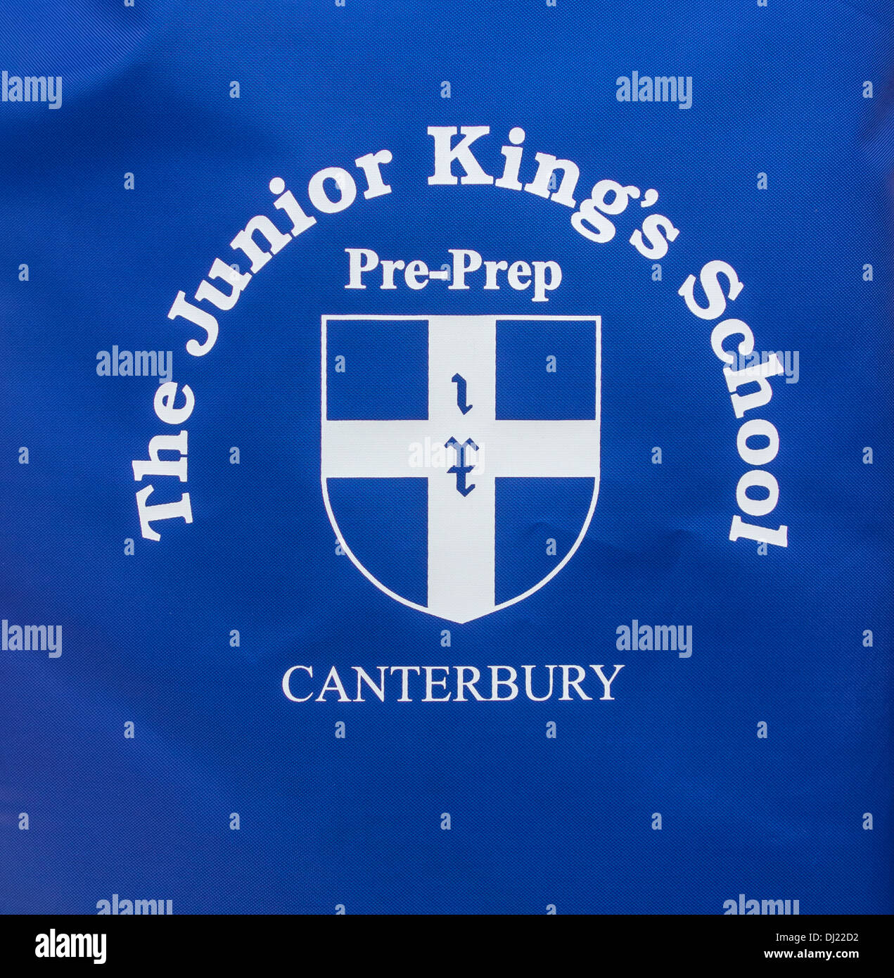 Junior Kings School Pre Prep Logo Canterbury - Stock Image