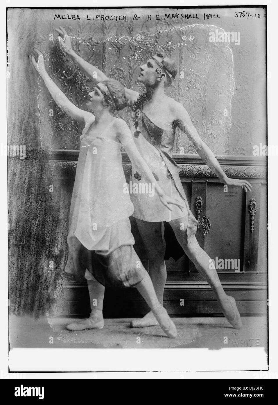 Melba L. Procter & H.E. Marshall Hall [Ballet] (LOC) - Stock Image