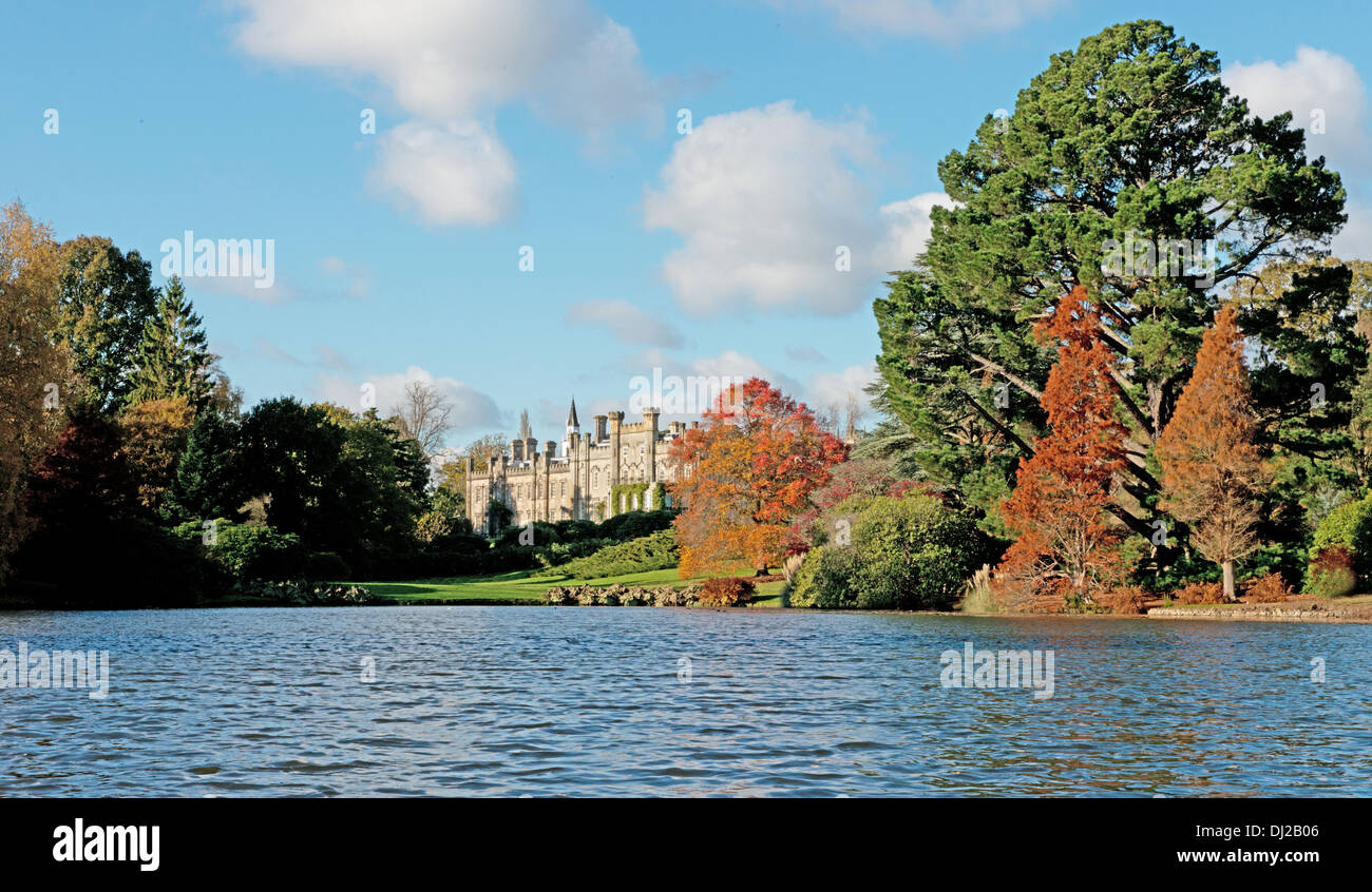 The House At Sheffield Park, Uckfield, East Sussex, England, Uk  (National Trust) Stock Photo